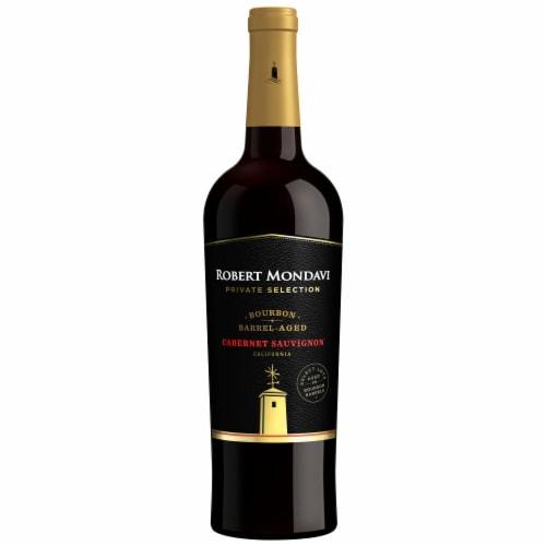 Robert Mondavi Private Selection Bourbon Barrel Aged Cabernet Sauvignon Red Wine Perspective: back