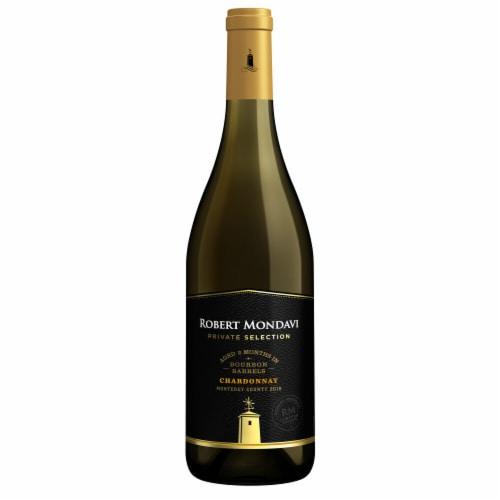 Robert Mondavi Private Selection Bourbon Barrel Aged Chardonnay White Wine Perspective: back
