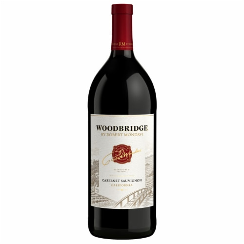 Woodbridge By Robert Mondavi Cabernet Sauvignon Red Wine Perspective: back