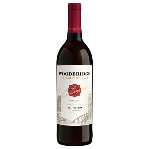 Woodbridge by Robert Mondavi Red Blend Red Wine Perspective: back