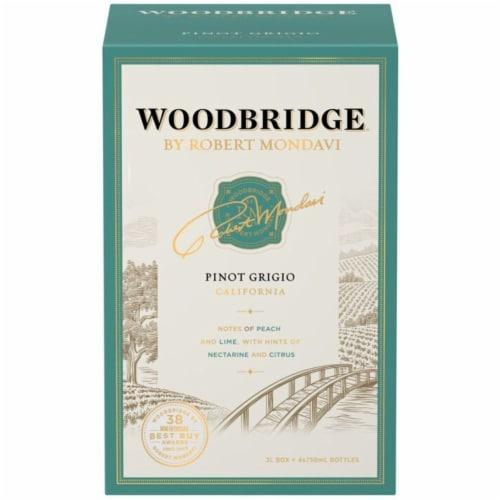 Woodbridge by Robert Mondavi Pinot Grigio Box Wine Perspective: back