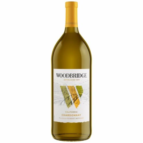 Woodbridge By Robert Mondavi Chardonnay White Wine Perspective: back
