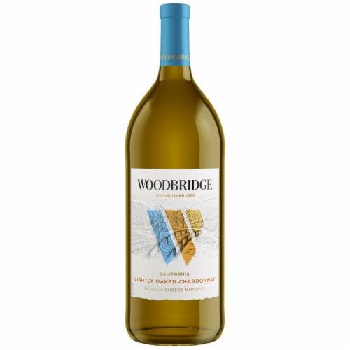 Woodbridge By Robert Mondavi Lightly Oaked Chardonnay White Wine Perspective: back