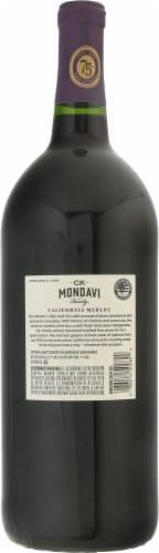 CK® Mondavi Merlot Wine Perspective: back