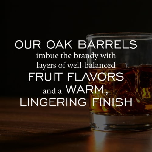 Christian Brothers® Grape Amber VS Brandy Perspective: back