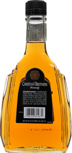 Christian Brothers Brandy Perspective: back