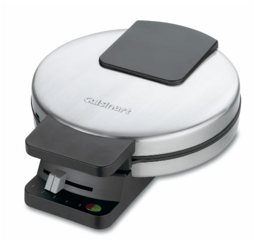 Cuisinart Classic Stainless Steel Waffle Maker - Silver Perspective: back