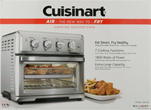 Cuisinart Air Fryer Toaster Oven - Silver Perspective: back