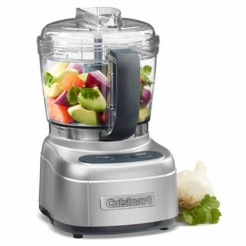 Cuisinart Elemental Collection 4-cup Chopper/Grinder - Silver Perspective: back