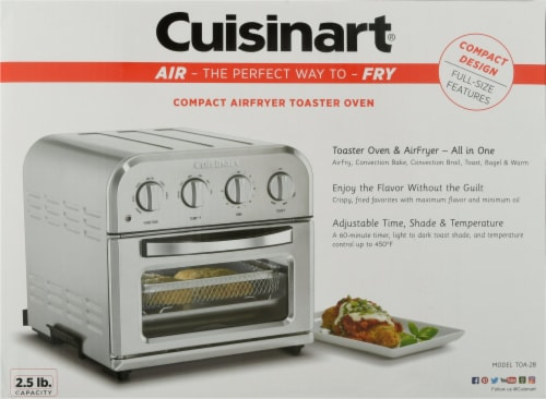 Cuisinart AirFryer Toaster Oven Perspective: back