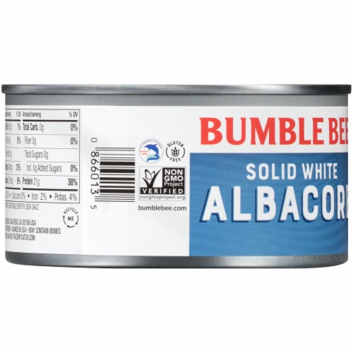 Bumble Bee® Solid White Albacore Tuna in Water Perspective: back