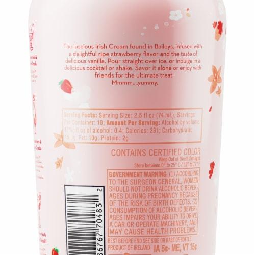 Baileys Strawberries & Cream Liqueur Perspective: back