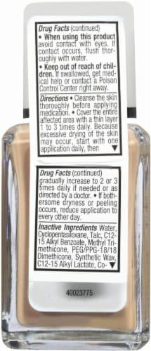 Neutrogena SkinClearing Natural Ivory Liquid Makeup Perspective: back