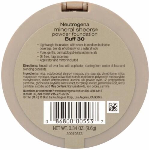 Neutrogena Mineral Sheers 30 Buff Powder Foundation SPF 20 Perspective: back