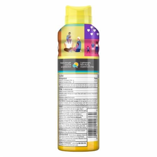 Neutrogena Beach Defense Water + Sun Protection Sunscreen Spray SPF 70 Perspective: back