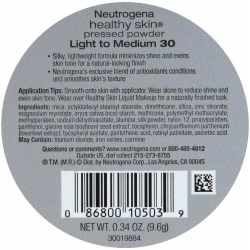Neutrogena Healthy Skin 30 Light to Medium Pressed Powder SPF 20 Perspective: back