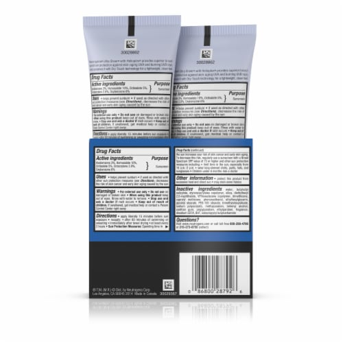 Neutrogena Ultra Sheer Dry-Touch Sunscreen Lotion SPF 45 Perspective: back