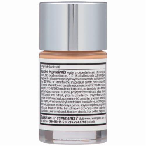 Neutrogena Healthy Skin Warm Beige Liquid Foundation Perspective: back