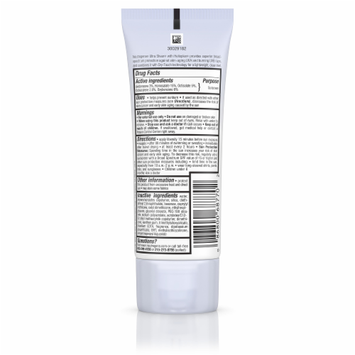 Neutrogena Ultra Sheer Dry-Touch Sunscreen SPF 70 Perspective: back