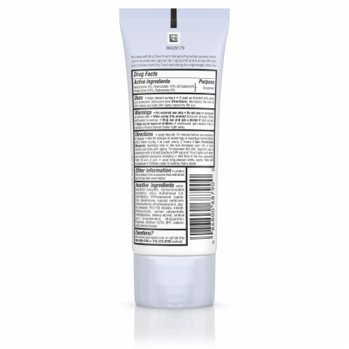 Neutrogena Ultra Sheer Dry-Touch Sunscreen Lotion SPF 55 Perspective: back