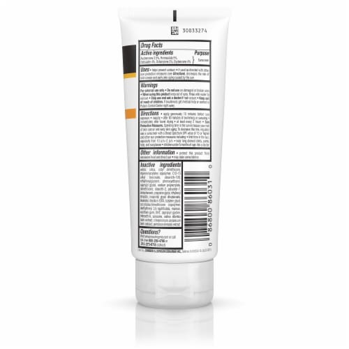 Neutrogena Clear Face Breakout Free Oil-Free Sunscreen Broad Spectrum SPF 30 Perspective: back