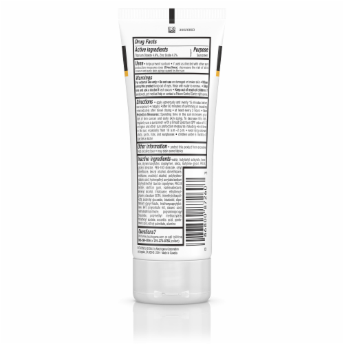 Neutrogena Sensitive Skin Sunscreen Lotion SPF 60+ Perspective: back