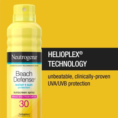 Neutrogena Beach Defense Sunscreen Spray SPF 30 Perspective: back