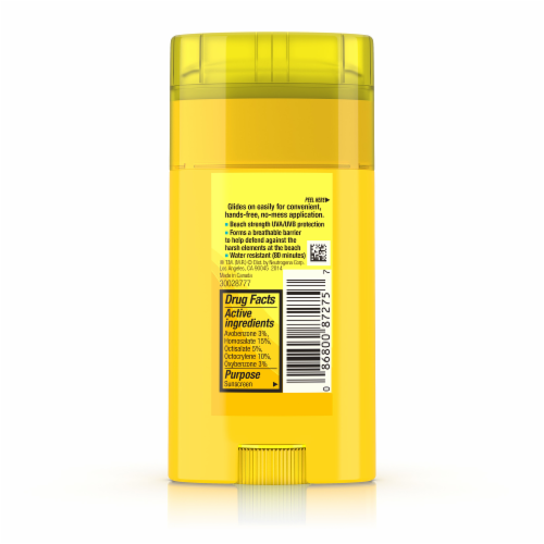 Neutrogena Beach Defense SPF 30 Sunscreen Stick Perspective: back