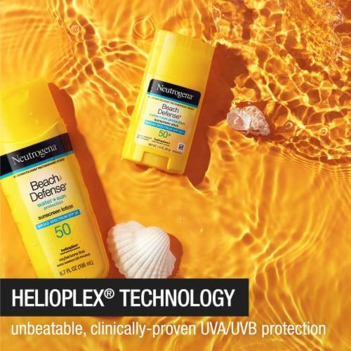 Neutrogena Beach Defense SPF 50+ Sunscreen Stick Perspective: back