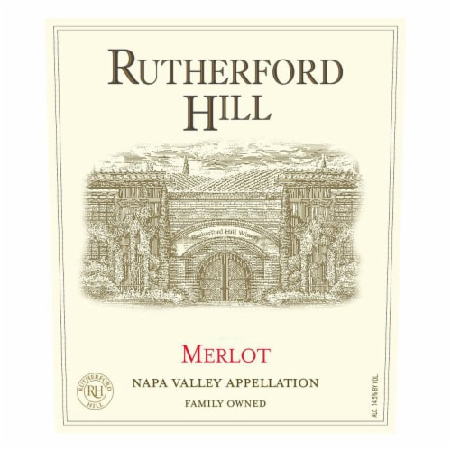 Rutherford Hill Merlot Perspective: back