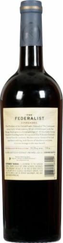 The Federalist Zinfandel Lodi Perspective: back