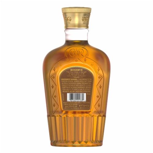 Crown Royal Reserve Blended Canadian Whisky Perspective: back
