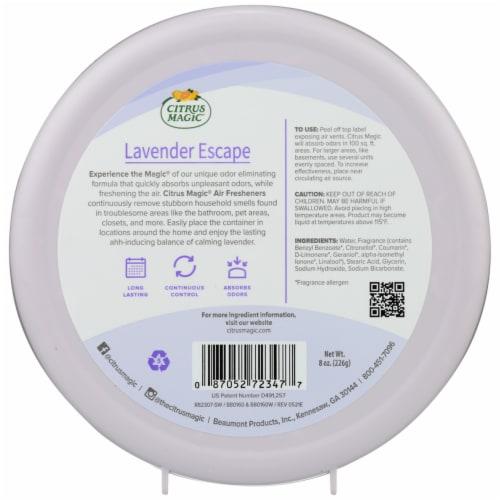 Citrus Magic Lavender Escape Solid Air Freshener Perspective: back