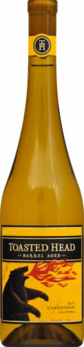 Toasted Head Chardonnay White Wine Perspective: back