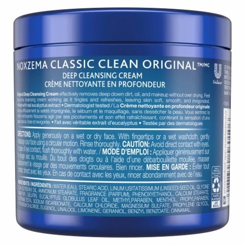 Noxzema Classic Clean Original Deep Cleansing Cream Perspective: back