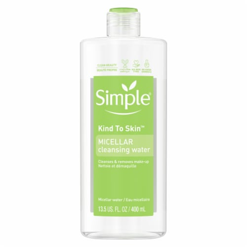 Simple® Kind To Skin Micellar Cleansing Water Perspective: back