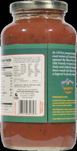 Blue Parrot Original Spaghetti Sauce Perspective: back