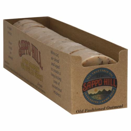Sappo Hill Oatmeal Glycern Cream Soap Perspective: back