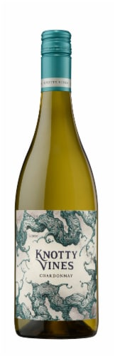 Knotty Vines Chardonnay White Wine Perspective: back