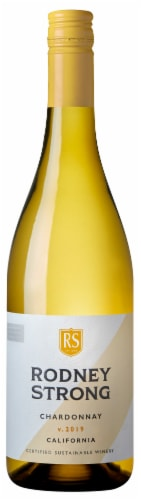 Rodney Strong Chardonnay White Wine Perspective: back
