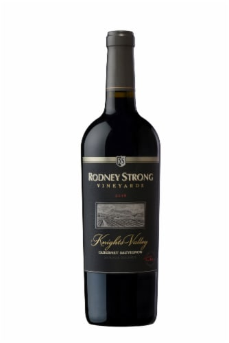 Rodney Strong Knights Valley Cabernet Sauvignon Perspective: back