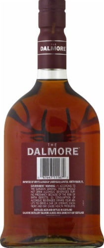 The Dalmore 12 Year Scotch Whisky 750ml Perspective: back