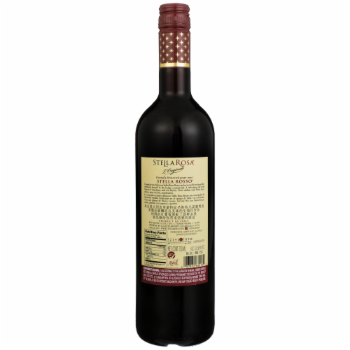 Stella Rosa L'Original Stella Rosso Red Wine Perspective: back