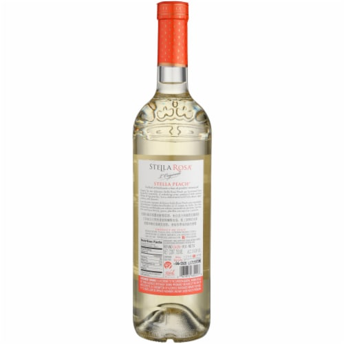 Stella Rosa L'Originale Stella Peach Wine Perspective: back