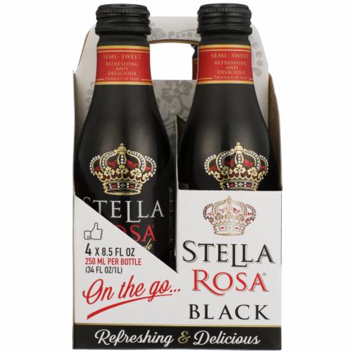 Stella Rosa Black Aluminum Singles Wine Perspective: back