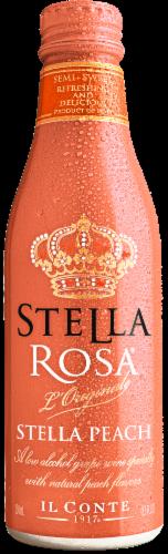 Stella Rosa Peach Wine Perspective: back