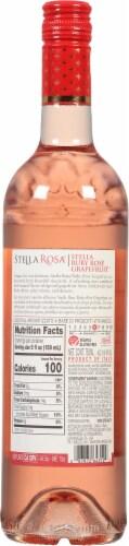 Stella Rosa  Ruby Rose Grapefruit Wine Perspective: back