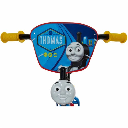 Thomas & Friends Kid's 12 Inch Beginner Bike w/Training Wheels, Thomas the Train Perspective: back