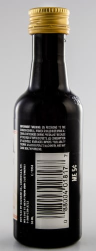 Chila Horchata Cinnamon Cream Rum Perspective: back