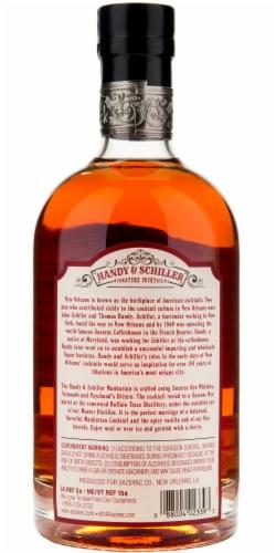 Handy & Schiller Manhattan Signature Cocktail Perspective: back